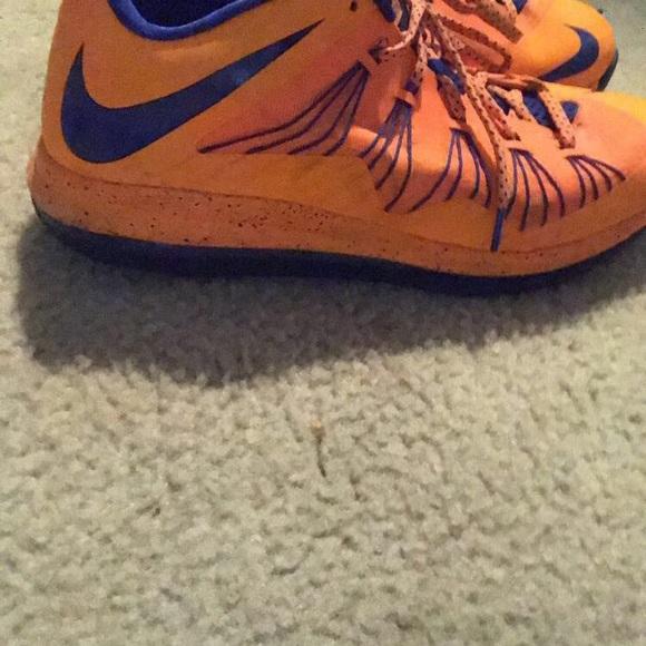 Nike Shoes | Lebron 10 Low Neon Orange